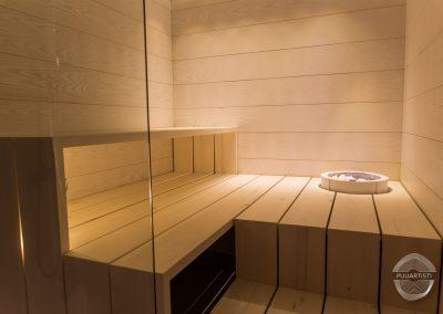 Modern Sauna Seating