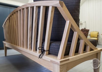 Elegant Wooden Sofa