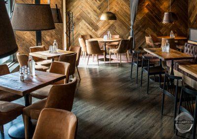 Rustic Restaurant Interior – Local Bistro