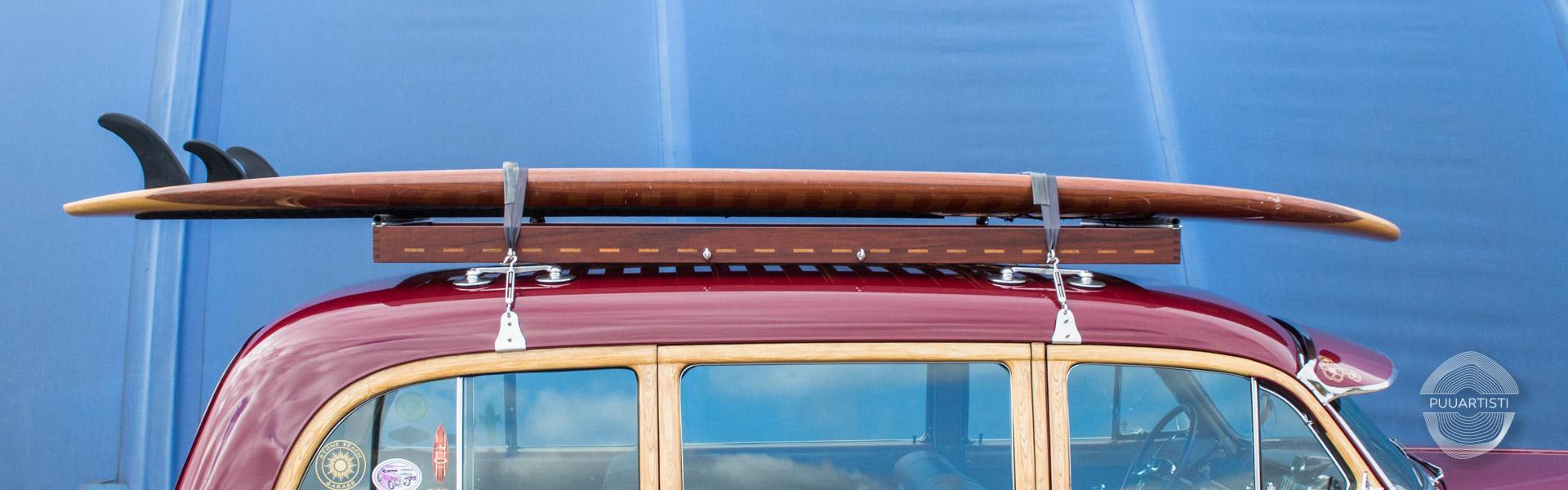Vintage Car Roof Rack Puuartisti