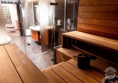 Modern Sauna Interior
