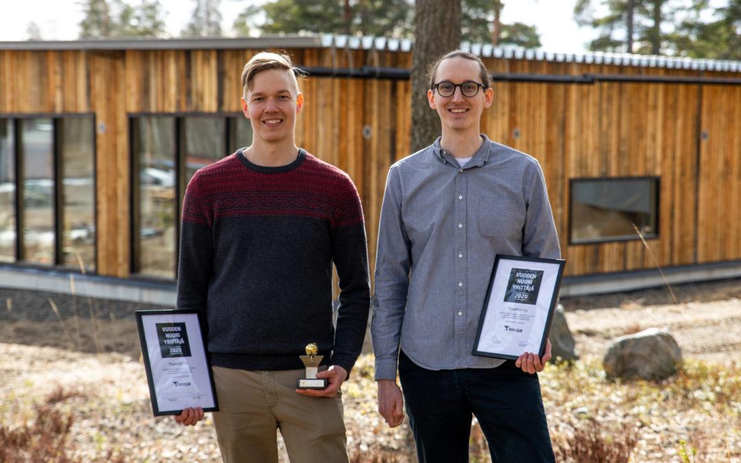 Woodartist Receives the North Karelia Young Entrepreneur of the Year Award